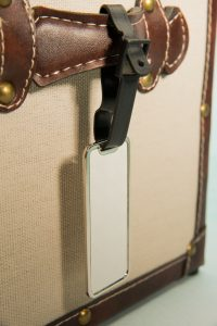 Petite plaque bagage Image