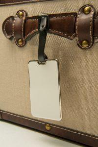 Grande plaque bagage Image
